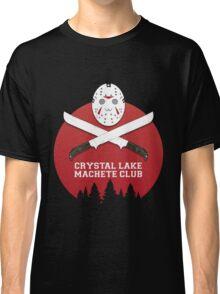 Crystal Lake Machete Club Classic T-Shirt