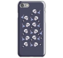 sherlock themed backing iPhone Case/Skin