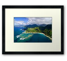 The North Shore of Kauai Framed Print