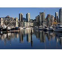 Granville Island Vantage Point Photographic Print