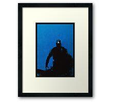 Cap [minimalist poster] Framed Print