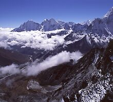 Himalayan Mountains, Nepal by Terry Rodger Smith
