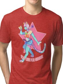 Too Cute For Gender Tri-blend T-Shirt