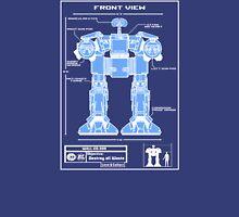 WALL-ED-209 Blueprint Unisex T-Shirt