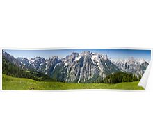 Alpine Panorama Poster