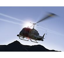 Huey Flyby Photographic Print