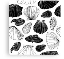 Graphic of the sea Canvas Print