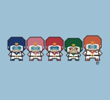 Mekkachibi Voltron Crew One Piece - Short Sleeve