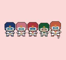 Mekkachibi Voltron Crew Kids Tee