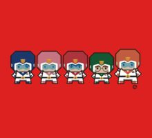 Mekkachibi Voltron Crew Baby Tee