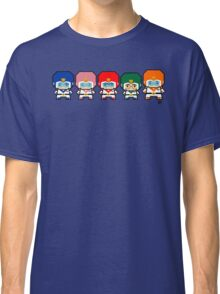 Mekkachibi Voltron Crew Classic T-Shirt