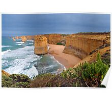 Twelve Apostles. Port Campbell National Park, Victoria, Australia. (2) Poster