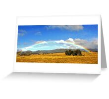 Somewhere over the rainbow Greeting Card