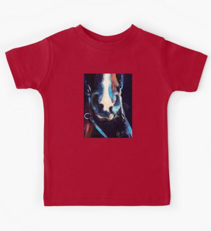 Horse-  Read my lips and cuddle my nose Kids Tee
