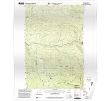 USGS Topo Map Washington State WA Dole 240875 2000 24000 Poster