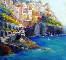 Cinque Terre (Italy) by Ivana Pinaffo