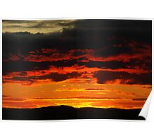 sunset  Colours Poster