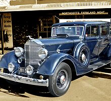 1934 Packard 1102 seven-passenger Sedan by Dean Wiles