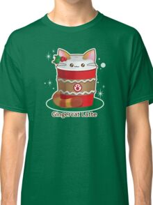 Purrista Pawfee: Cute Christmas Coffee Cat Classic T-Shirt