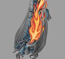 Dragon Breathing Fire by motilemedia