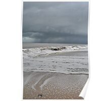 Storm over the indian Ocean Poster