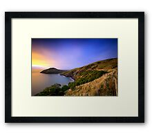 Taiaroa Head - Dunedin NZ Framed Print