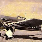 WW2 Hawker Typhoon fighter/bomber circa 1940 by Dennis Melling