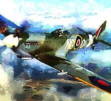 "WW2 ""Supermarine Spitfire"" 1936 by Dennis Melling"