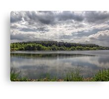 Cool Lake Canvas Print