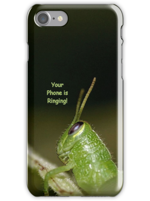 Your Phone Is Ringing! [iPhone, iPod Case] by aprilann