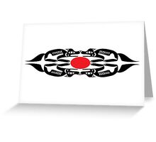 Coast Salish Wolf Greeting Card