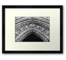 Centre Block 1 Framed Print
