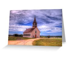 The Old Norse Church of Bosque County, Texas Greeting Card