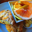 Alderbrook's Scones & Fruit by M-EK