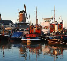 Resting in the winter harbour by jchanders