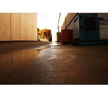 alley shot Photographic Print