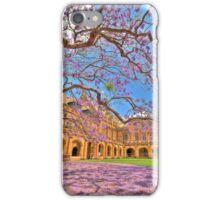 Jacaranda at the University of Sydney iPhone Case/Skin