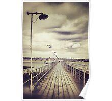 The pier promenade Poster