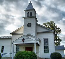 Mt Olive UMC by James Brotherton