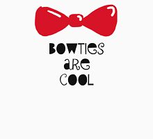 Bowties Are Cool-Black Lettering T-Shirt