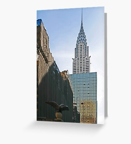 NYC-Crysler Building Greeting Card