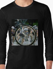 Bicycle Tour en France, Giro, race Long Sleeve T-Shirt