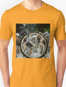 Bicycle Tour en France, Giro, race Unisex T-Shirt