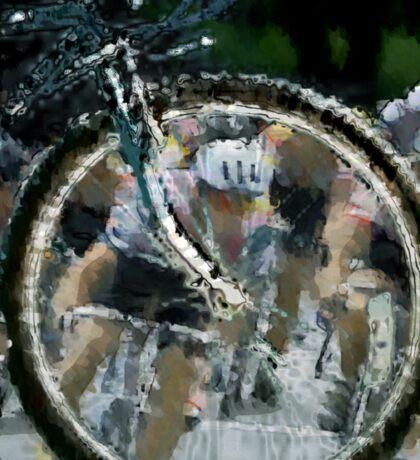 Bicycle Tour en France, Giro, race Sticker
