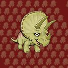 Triceratops by Dave Stephens