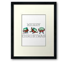 Merry Christmas - BMO Framed Print