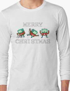 Merry Christmas - BMO Long Sleeve T-Shirt