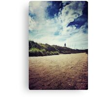 Dune Walk Canvas Print