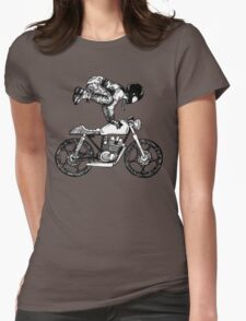 MotoYogi - Women Who Ride Womens Fitted T-Shirt