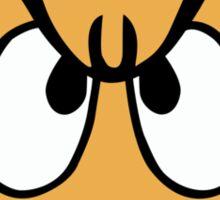 Grumpy Goomba Sticker